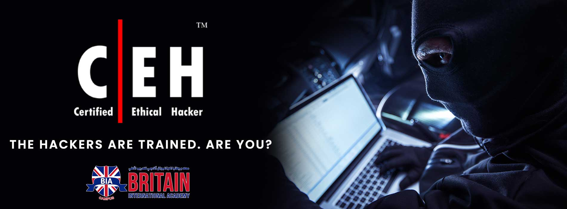 (CEH v10) THE HACKERS ARE TRAINED. ARE YOU?