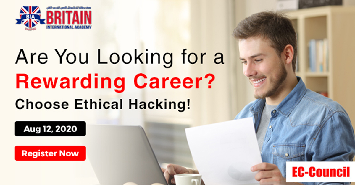 Free Certified Ethical Hacker – Webinar 12th August 2020