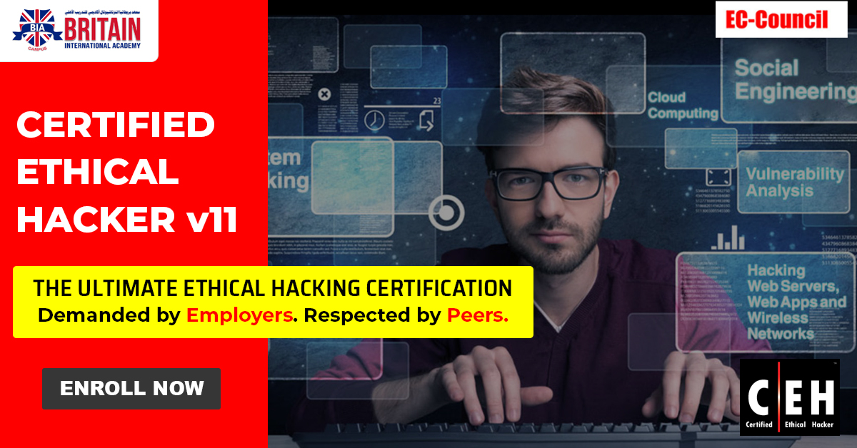 Certified Ethical Hacker – CEHv11 – 19th to 23rd October 2020